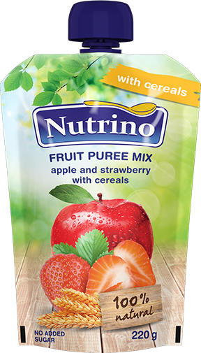 fruit-puree mix-apple-and-strawberry-with-cereals-220g