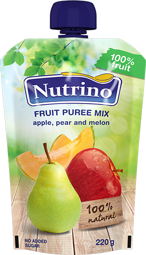 fruit-puree mix-apple-peer-and-melon-220g