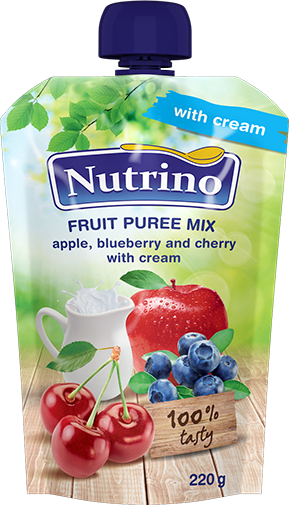 fruit-puree mix-apple-blueberry-and-cherry-with-cream-220g